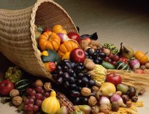 Fruits and vegetables - autumn season