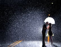 Love is in the rain - wonderful magic moments