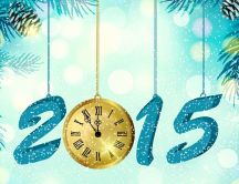 Happy New Year 2015 - winter holiday