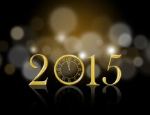 Golden time golden year - Happy New Year 2015