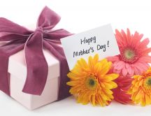 Flowers and presents - Happy Mother's Day