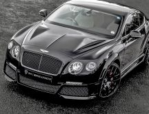 Black bentley continental GT onyx