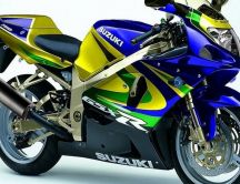 Amazing colored bike - Suzuki GSX R