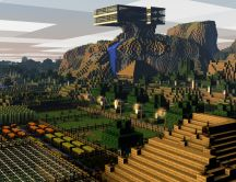 Minecraft Landscape - Artistic wallpaper