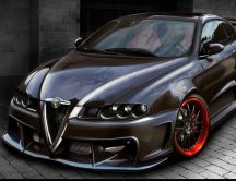 Alfa Romeo GT -  Black tunning car