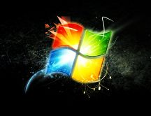 HD Windows 7 wallpaper - Graphic design theme