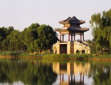 The West Bund of the Summer Palace from Beijing