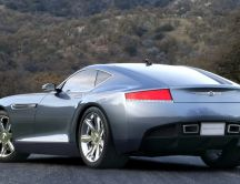 Chrysler Firepower Coupe Concept in mountains
