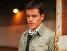 Young actor Matt Damon - Celebrity wallpaper