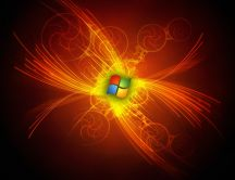 Microsoft Windows logo - Art design wallpaper