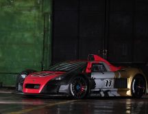 Beautiful Gumpert Apollo Car - Race car