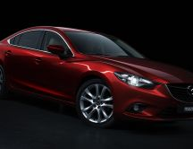 Awesome red Mazda 6 Car