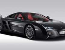 Black McLaren X1 Car - HD wallpaper