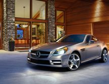 Mercedes Benz SLK Class Roadster - Sport car