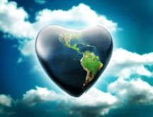 Big heart of this world -HD digital art wallpaper