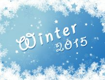 Wallpaper for winter 2015 - Frozen window