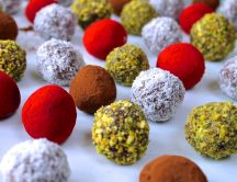 Chocolate balls - perfect for the best Christmas