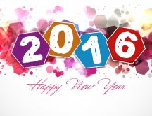 Art design - Happy New Year 2016