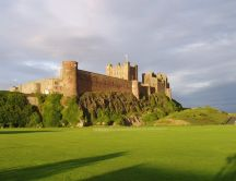 Old castle in England - Bamburgh