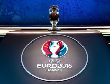 Trophy UEFA Euro 2016 France - Football game