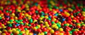 Millions of colored candies - HD sweet wallpaper