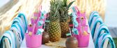 Delicious cocktails for kids - summer pool party
