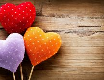 Hearts sweet like lollipops - HD wallpaper