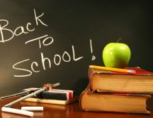 Back to school for a new year - HD wallpaper