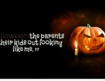 Happy Halloween party and scary pumpkin