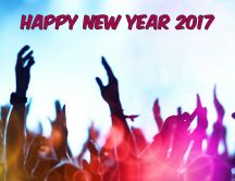 Big party in the night - Happy New Year 2017