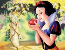 Snow White and poison apple - Wonderful Cartoons
