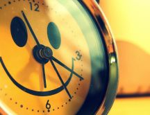 Good morning smiley clock - Have a good day