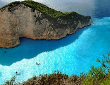 Zakynthos Greek Island - Wonderful blue Mediterana water