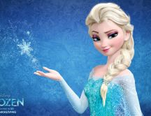 Queen Ana from Frozen - Beautiful animation movie
