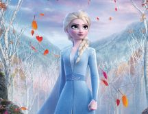 Wonderful Queen Elsa from Frozen animation movie