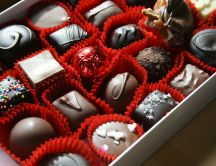 Delicious chocolate perfect for a romantic gift - Valentines