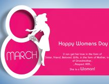8 March - Happy International Woman's Day