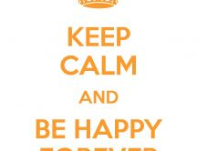Keep calm and stay at home - Be happy with family