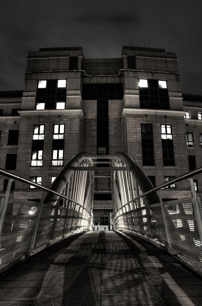 Dark City Landscape