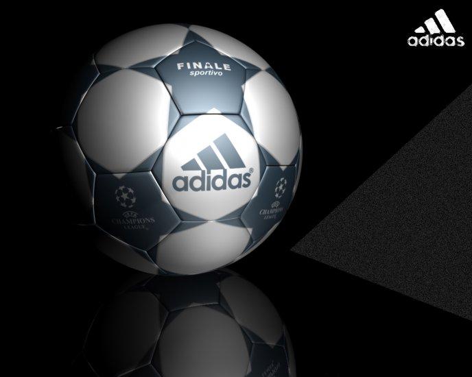 2785 3D Adidas UEFA Finale Sportivo Soccer Ball