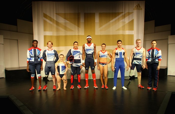Adidas team - Olympic athletes