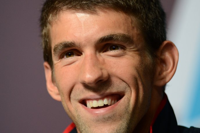 Michael Phelps - Olympic gold medalist from London 2012