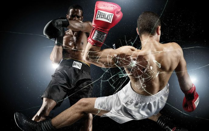 Olympic Boxing - powerful people - violent sport