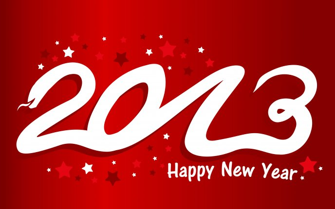 Happy New Year 2013 is here