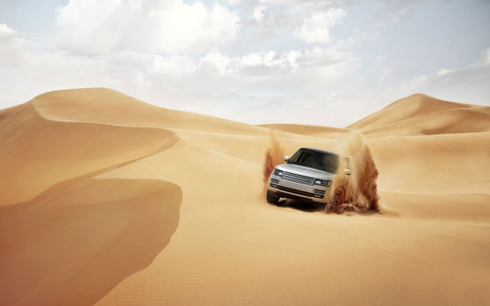A new car in 2013 - Land Rover, Range Rover