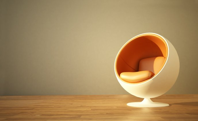 Round chair - an original form
