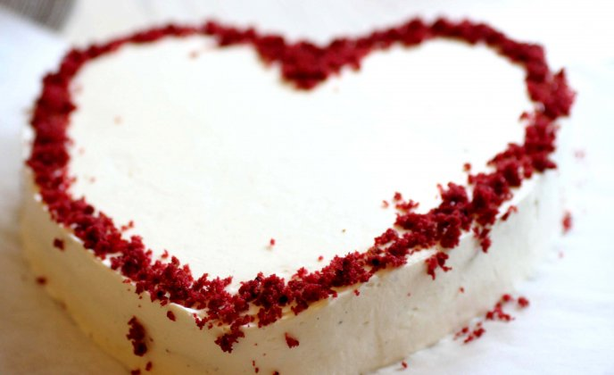 The sweetest cake - Heart for your lover