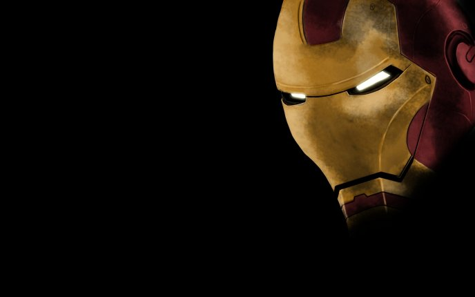 Iron Man's mask - hd wallpaper