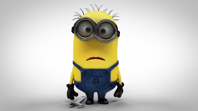 Minions from movie Despicable me