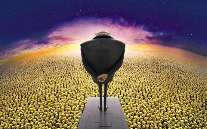 Millions of minions - Despicable me 2013